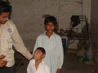 Child with Thalassemia in Mardan