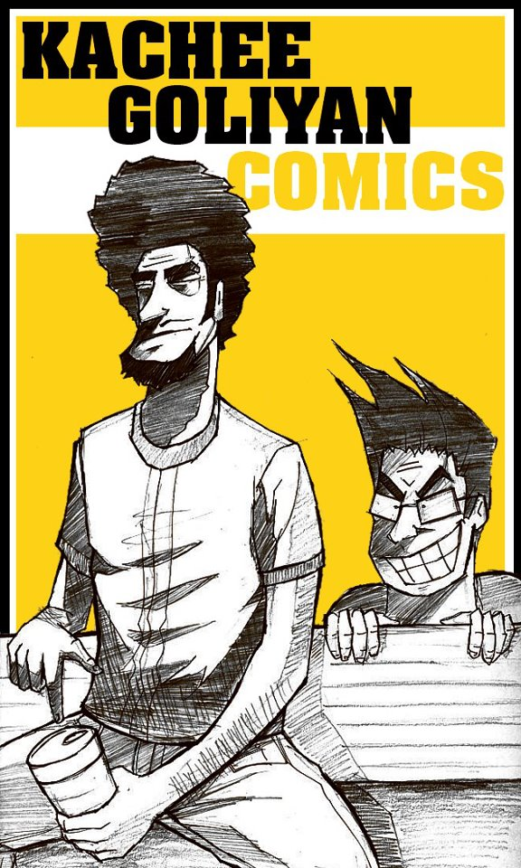 The Comic Book Dudes of Kachee Goliyan